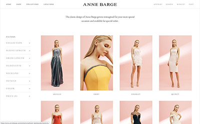 Anne Barge Dresses